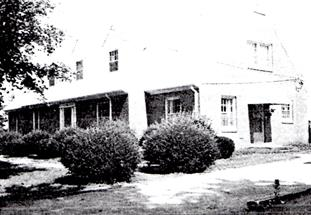 Parsonage completed 1955